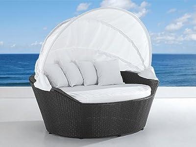 Sonnenliege - Rattan Strandkorb - Sonneninsel - Rattanmöbel - Lounge - SYLT