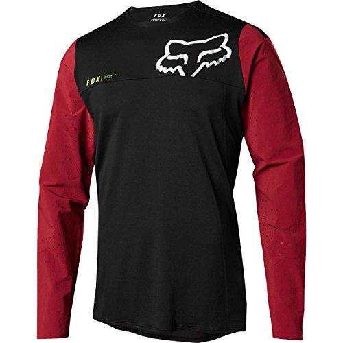 Fox Trail-Jersey Langarm Attack Pro Rot Gr. L (Fahrt Racing Pro)