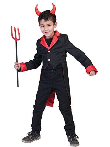 Vampir-Jacke für Jungen (Junge Kostüm Zirkusdirektor)