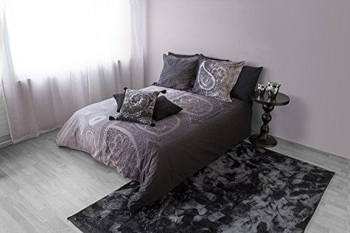 Enjoy Home Parure Housse de Couette et 2 Taies Cashemire, Coton, Imprimé, 260x240 cm