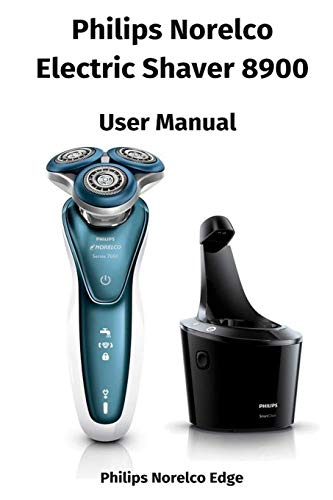 Philips Norelco Electric Shaver 8900 - User Manual