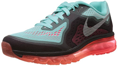 Nike Women's Air Max 2014 Hyper Turquoise,Reflect Silver,Hyper Punch  Running Shoes - 4 UK/India (36.5 EU)(4.5 US)  available at amazon for Rs.8997