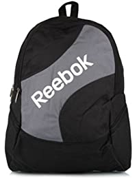 Reebok Sport Laptop BP Backpack Mochila Bolsa de deporte Outdoor Senderismo, k35910, color: negro