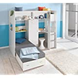 L Shaped 3ft Bunkbed Wooden Lshaped Bunk Bed For Kids