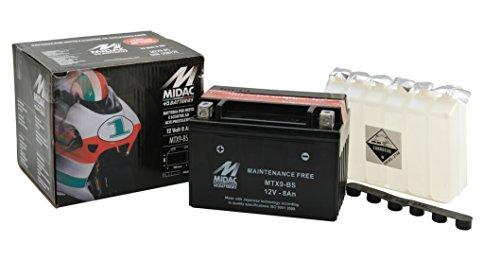 BATTERIA MOTO SIGILLATA S/MANUTENZIONE MTX9 C/ACIDO PREDOS.