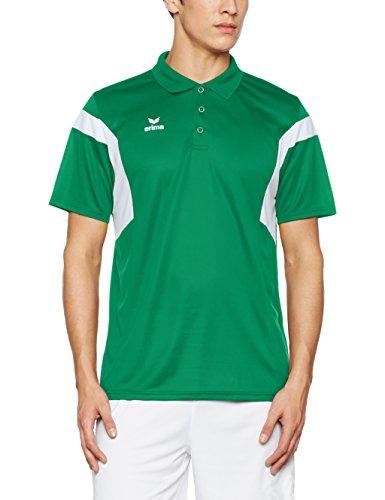 Erima Classic Team Polo da uomo Smaragd/bianco