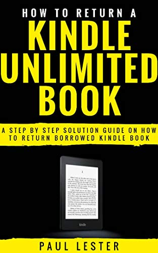 How to Return A Kindle Unlimited Book: A Step By Step Solution ...