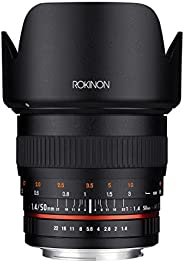Rokinon 50mm F1.4 Lens for Sony E Mount