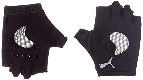 PUMA Damen at Gym Gloves Handschuhe, Black/Gray Violet, S