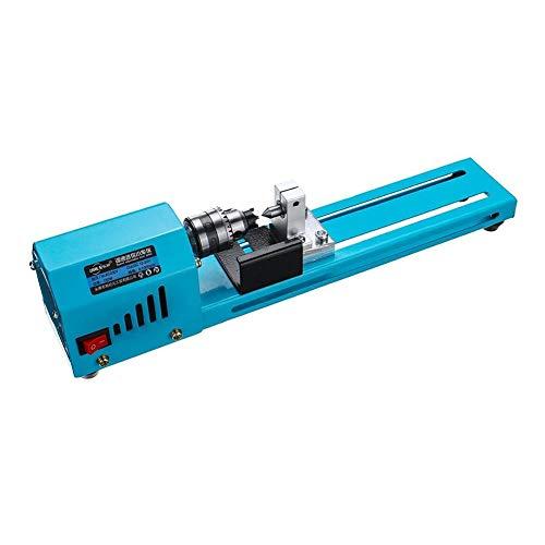 Mini macchina rotante per perle, 150 W, mini tornio per lucidatura, fai da te, lavorazione CNC per tabella, lavorazione del legno, strumento fai da te