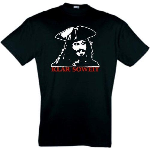Preisvergleich Produktbild world-of-shirt Herren T-Shirt Jack Sparrow Fluch der Karibik