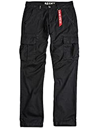 Alpha Industries Hose Agent schwarz