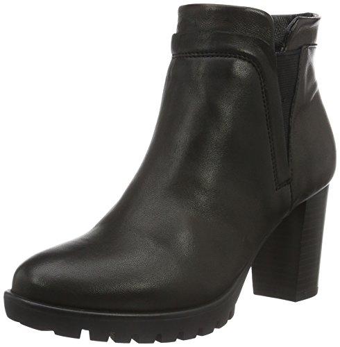 SPM - Haut Ankle Boot, Stivali bassi con imbottitura leggera Donna Nero (Schwarz (Black/Black))