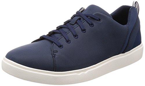 Clarks Step Verve Lo, Derbys Homme Bleu (Navy)