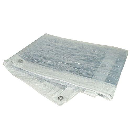 Durchsichtige PVC-Sehen durch Plane Blatt Abdeckung Wasserfest 2 m x 3 m (Benutzerdefinierte Leinwand Planen)