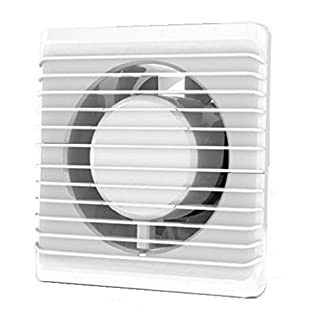 Low Energy Silent Kitchen Bathroom Extractor Fan 125mm wit Humidity Sensor Ventilation Extraction by AirRoxy