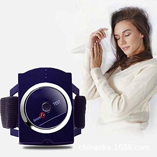 Rziioo Anti-Schnarchen-Armband - Biofeedback-Sensor Anti-Schnarchen-Geräte, Schnarchschalldämpfer