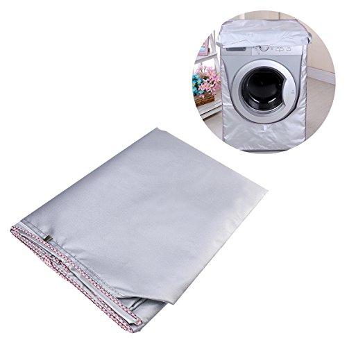 WINOMO Housse machine à laver étanche pour laveuse / sécheuse à chargement frontal