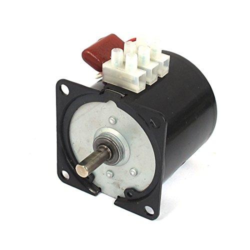 sourcingmap® AC 220V 50Hz 10RPM elektrische Maschine Getriebe Motor 60KTYZ B Kondensator de -