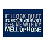 It'S Because You Haven'T Seen Me With My Mellophone Autocollant Pack X4