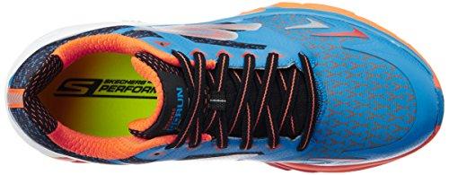 Skechers Go Run Forza, Chaussures Multisport Outdoor Homme Bleu (Blor)