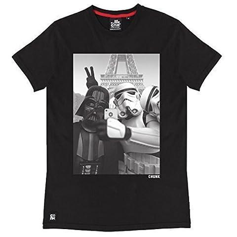 Star Wars Empire Selfie T-Shirt chunk Markenware mit Darth Vader