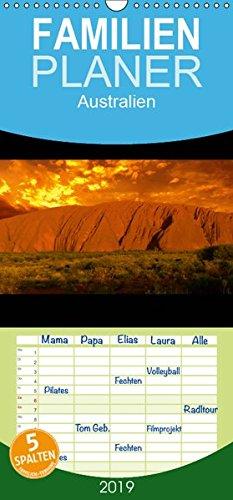 Australien - Familienplaner hoch (Wandkalender 2019 , 21 cm x 45 cm, hoch): Eindrucksvolle Bilder aus Australien (Monatskalender, 14 Seiten ) (CALVENDO Orte)