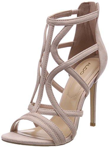 Aldo tifania, sandali punta aperta donna, rosa (dust rose), 38 eu