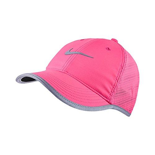 Nike W's Run Knit Mesh Cap - Gorra para mujer, color rosa, talla única