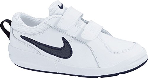 Nike Pico 4, Unisex-Kinder Sneakers, Weiß (White/Midnight Navy), 33.5 EU (1.5 Kinder UK)