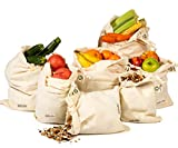 Wiederverwendbare Produce Taschen, Baumwollbeutel, Musselin Tasche, Gemüsesack