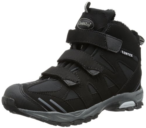 Conway 600283, Scarpe da escursionismo e trekking unisex adulto nero (Noir - Schwarz (Black/Grey))