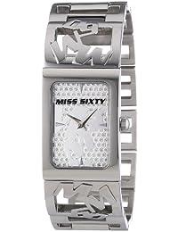 Miss Sixty Damen-Armbanduhr XS Analog Quarz Edelstahl R0753130502