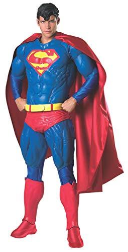 Action Kostüm Superman - Rubie's Offizielles Superman-Kostüm für Erwachsene, Standardgröße