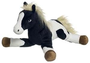 Heunec 331273Jouet en peluche cheval couché 30cm