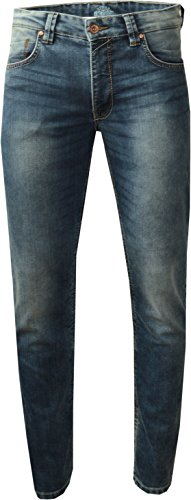 King Kerosin Speedmen Cordura Biker Jeans Comfort-Stretch Vintage Flat Finish W33 / L32 (Denim-finish)