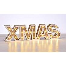 Schriftzug Frohe Weihnachten Beleuchtet.Suchergebnis Auf Amazon De Fur Frohe Weihnachten Schriftzug