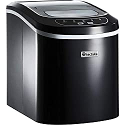 TecTake Machine à glaçons Appareil de préparation de Glace - diverses Couleurs au Choix - (Noir | no. 400476)