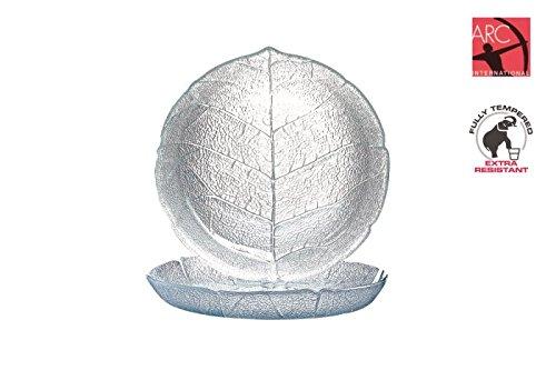 Luminarc ARC 10365 Aspen Teller tief, 20,5 cm, Glas, transparent, 6 Stück - Aspen Set