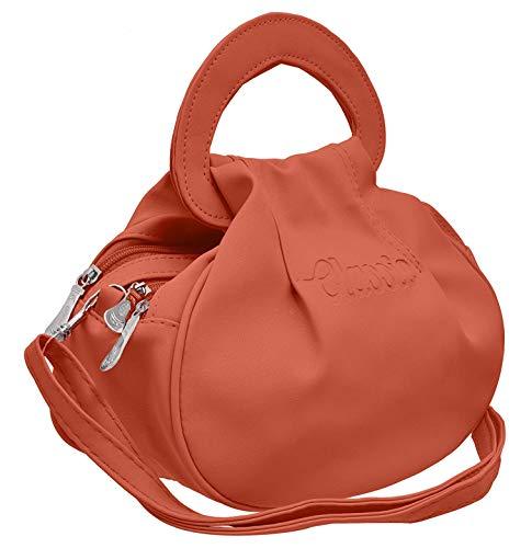 Sleema Fashion Women\'s Cross Body Peach Sling Bag