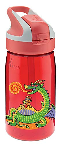 Laken Botella Infantil de Tritan 0,45L Tapón Summit, Dragón