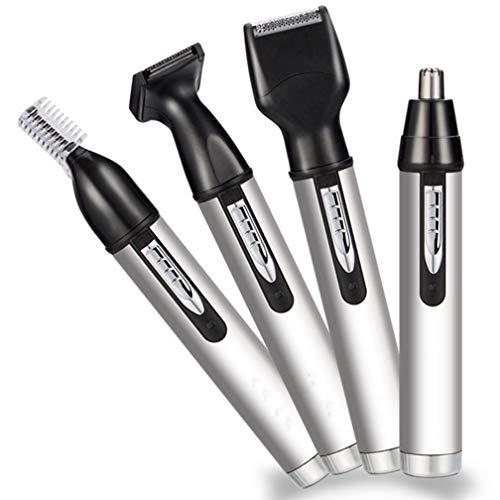 CYL Elektrische Nase Haarschneider, Wiederaufladbare Haar Reparatur, Mini-Rasierer, Augenbrauen, Vier-In-Eins-Multifunktionsanzug, Männlich (Persönliche Rasierer Für Frauen)