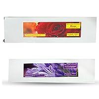 DCS Raghurama Natural Incense sticks - Combo of Lavender & Rose (Set of 2)