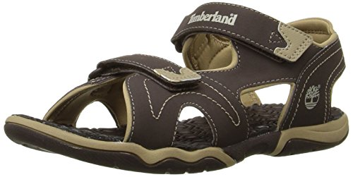 Timberland Active FTK_Adventure Seeker 2 Unisex-Kinder Sandalen, Braun (Brown With Tan), 31 (Timberland Jungen Sandalen)