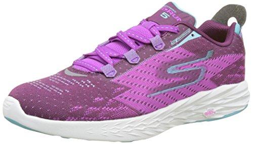 Skechers Go Run 5, Chaussures Multisport Outdoor Femme Violet (Pur)