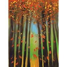 Feeling at home impresión x marco marco, fine art print-Colors of Fall II 122 x 91 cm
