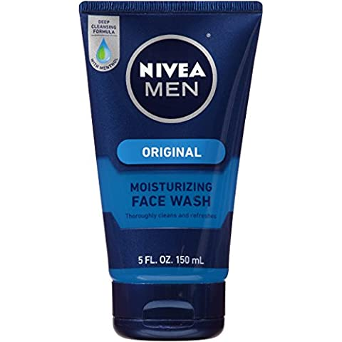 Nivea for Men Face Wash Cleans and Moisturising with Menthol
