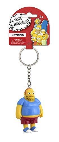 Fox The Simpsons Comic Book Guy 3D PVC Key Ring by Monogram International