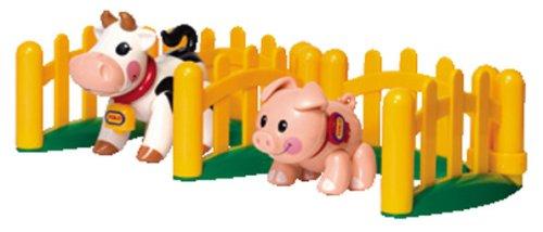 Disney cctsp animaux de ferme, set cochon et vache