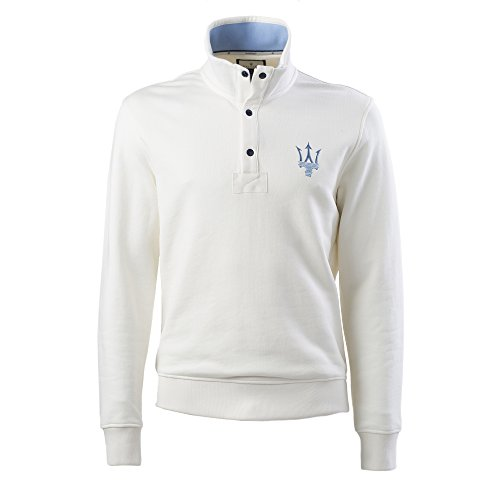 maserati-sweat-shirt-blanc-avec-3-boutons-pour-homme